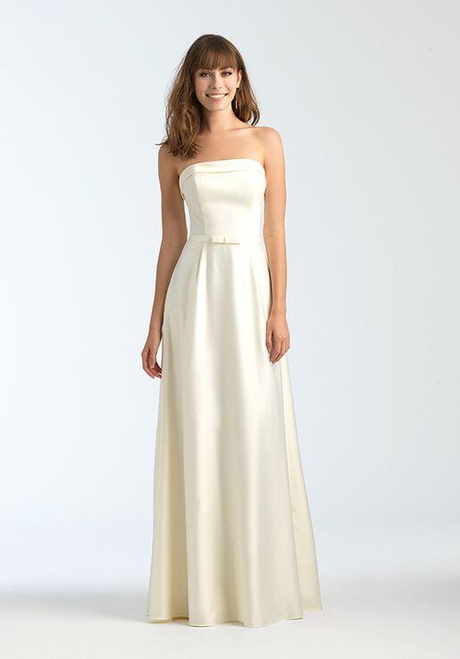 Allure Bridesmaids 1558 Strapless Bridesmaid Dress