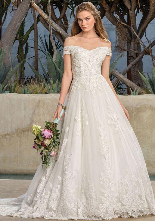 4161c09b331 Casablanca Bridal Style 2290 Harlow Wedding Dress - The Knot