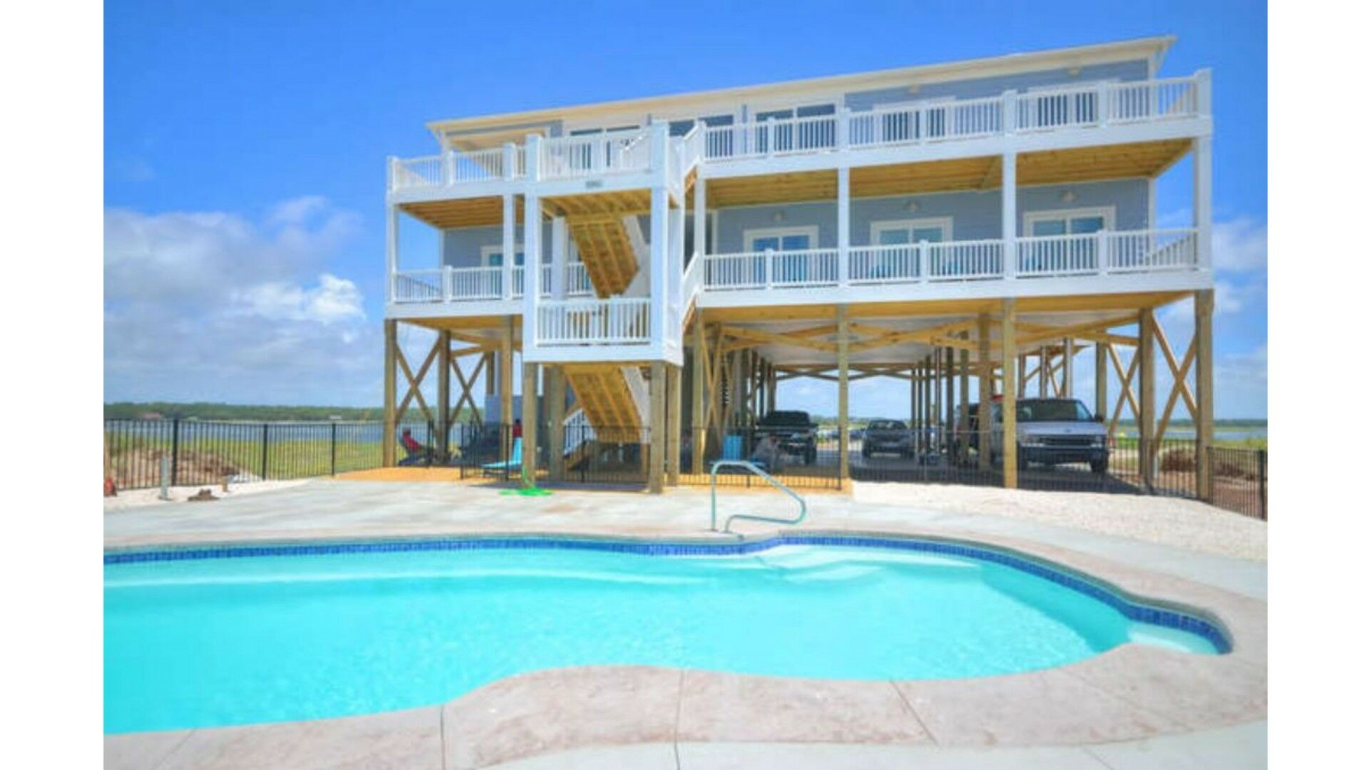 Oceans 12 Oceanfront Event Home On Oak Island Nc