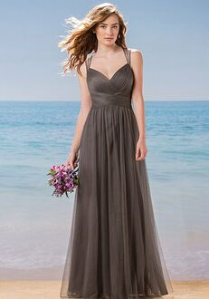Belsoie Bridesmaids by Jasmine L184002 V-Neck Bridesmaid Dress