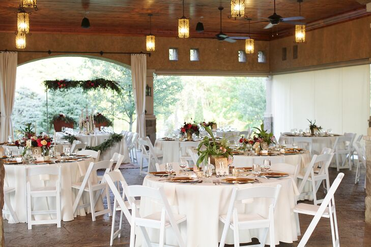 Romantic, Rustic Gervasi Vineyard Reception