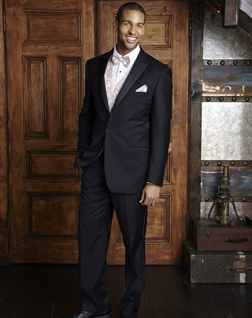 BLACKTIE MILAN Black Wedding Tuxedo Black Tuxedo