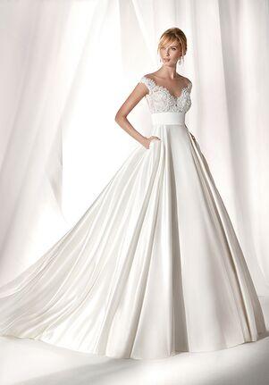 Nicole Milano 2019 Collection NIAB19036 Ball Gown Wedding Dress