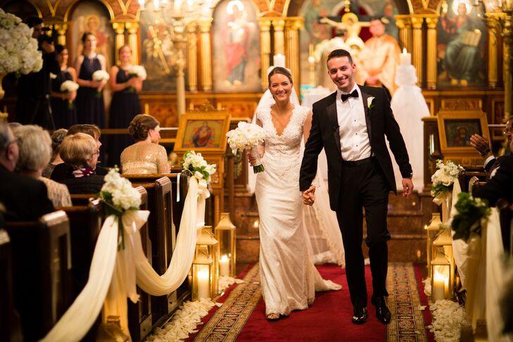 A Glamorous Greek Wedding at Hotel du Pont in Wilmington