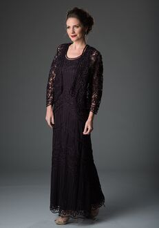 LuxeLace by Soulmates 1603 Purple Mother Of The Bride Dress