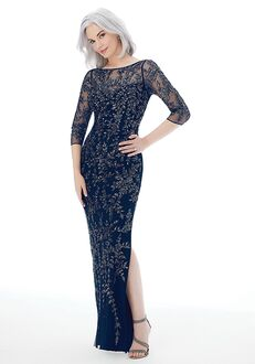MGNY 72232 Blue Mother Of The Bride Dress