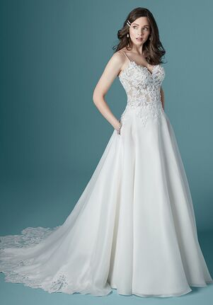 Maggie Sottero SAVANNAH A-Line Wedding Dress
