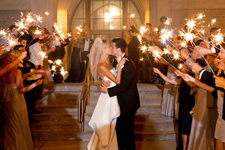 Indiana Memorial Union Sparkler Send-Off