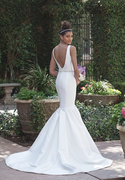 Sincerity Bridal 4008 Mermaid Wedding Dress