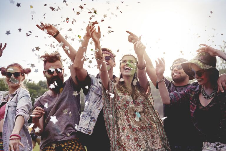 music festival bachelor and bachelorette party