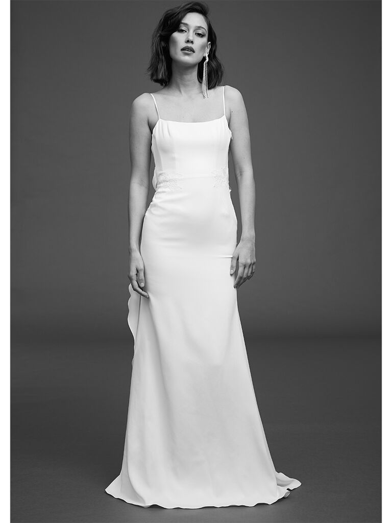 Rime Arodaky fitted dress with embroidered braid