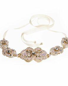 MEG Jewelry Tabitha headband and belt Wedding  photo