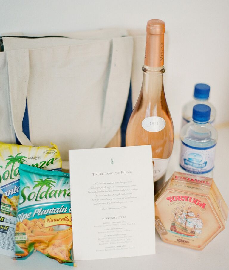 Welcome Bag With Drinks