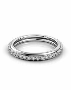 Danhov Classico Diamond Eternity Wedding Band White Gold Wedding Ring
