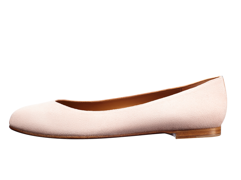 Margaux The Perfect Gift custom flats in blush gift for wife