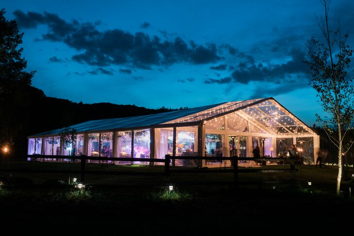 Clear Reception Tent