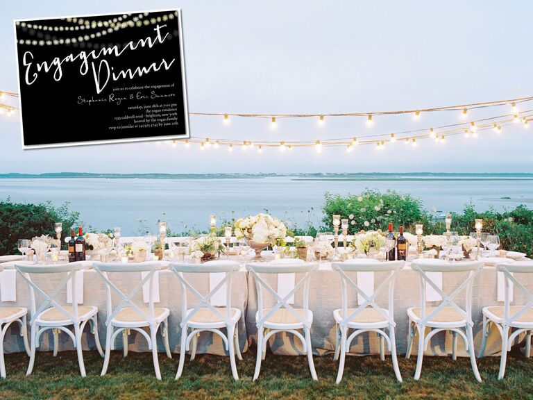 Engagement Dinner Party Ideas Part - 27: Dinner Party Engagement Theme Ideas And Decor