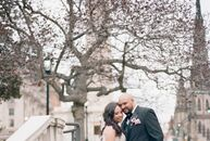 After an elopement in Paris, LaKesha Smith (39 and a senior marketing manager) and Erick Proctor (35 and a network administrator) returned to Baltimor