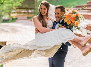Kirsten Cooner (21 and a professional studio artist) met Austin Cooner (26 and in the Air Force) first met at a rock climbing gym in Portland, Oregon,