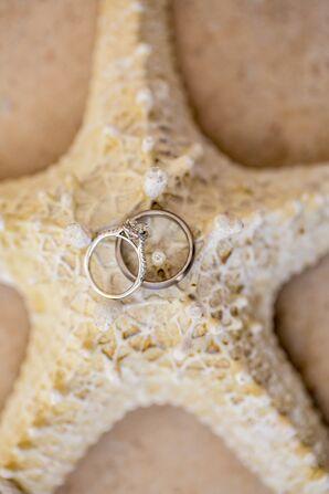 Elegant Pear Halo Engagement Ring