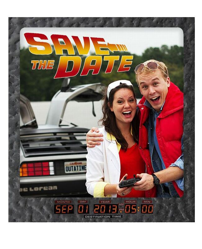 Punny Save-the-Dates |<img class=