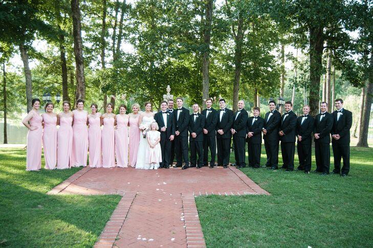 Formal Summer Wedding Party Attire