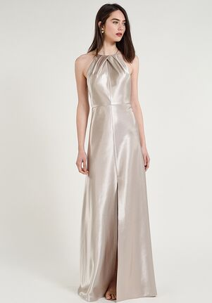Jenny Yoo Collection (Maids) Cameron Halter Bridesmaid Dress