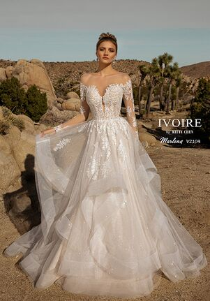 IVOIRE by KITTY CHEN MARLENA,V2104 Ball Gown Wedding Dress