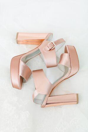 Blush Pink Stuart Weitzman Sandals