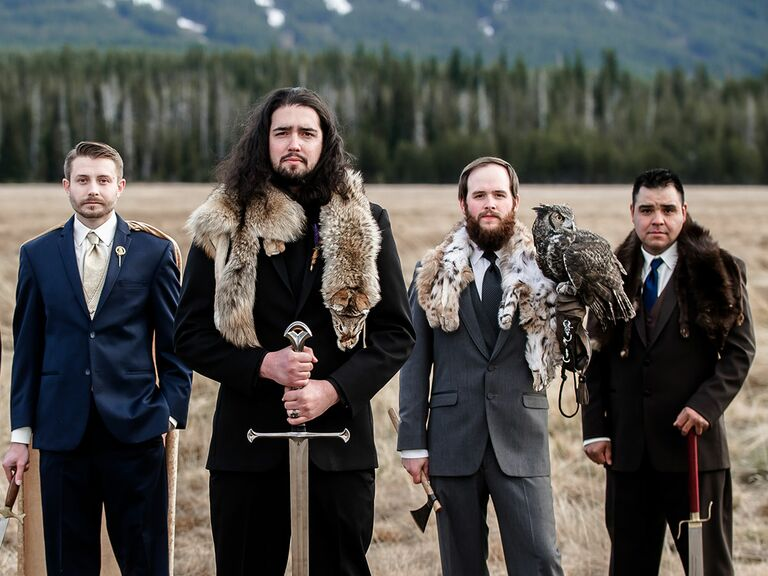 Game Of Thrones Styled Wedding Shoot