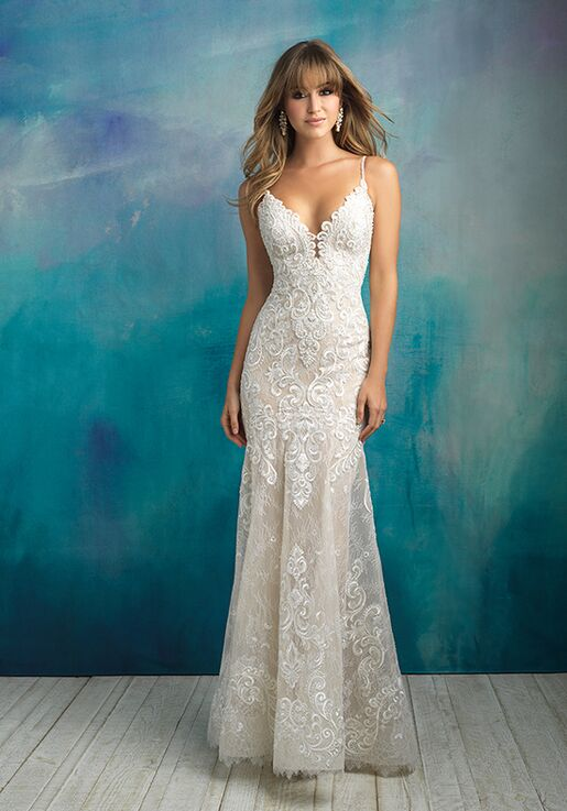 Allure Bridals 9501 Sheath Wedding Dress
