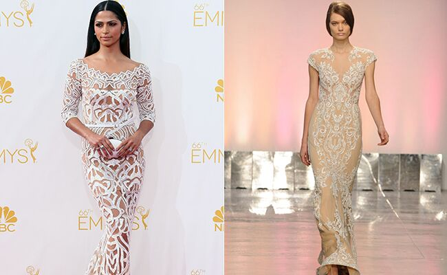 Camila Alves Emmy Awards