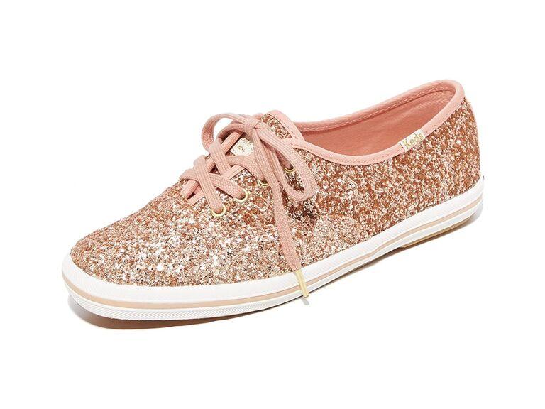 Keds Women's x Kate Spade New York glitter sneakers