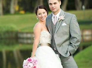 The Bride Lara Kocerka, 26, owner and designer at Declaration Boutique and Events The Groom Steven Hill, 27, self-employed The Date November 12  Lara
