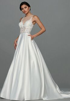 Avery Austin Bailey Ball Gown Wedding Dress