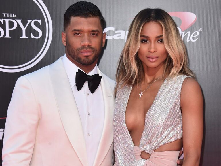 Russel Wilson and Ciara