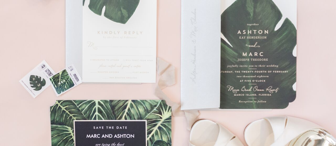 invitations + paper