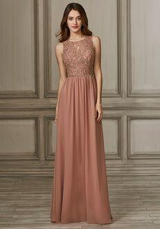 Adrianna Papell Platinum 40140 Bateau Bridesmaid Dress