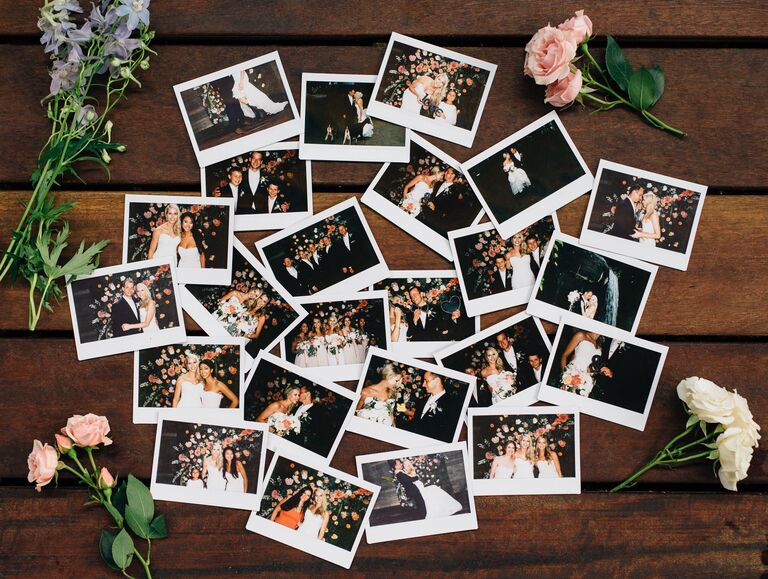 Affordable photo booth alternatives for weddings wedding reception polaroids solutioingenieria Gallery