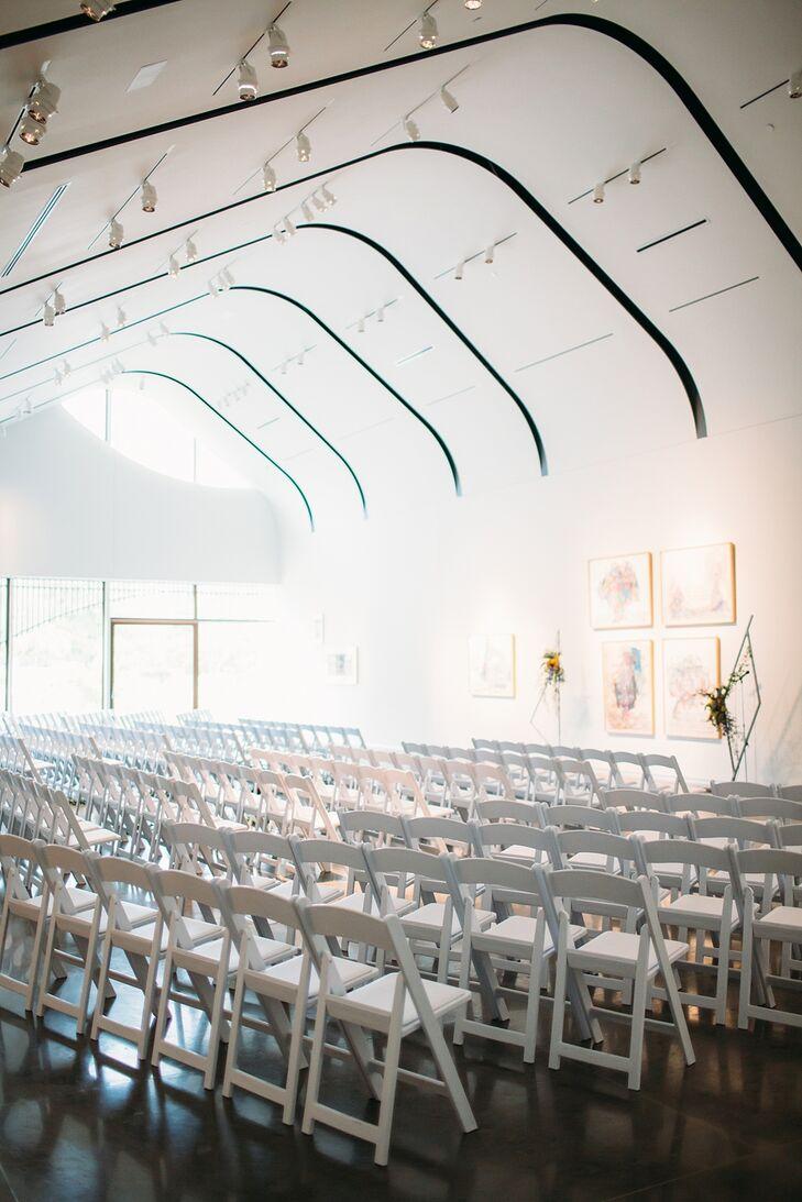 Ceremony Setup for Wedding in St. Louis, Missouri