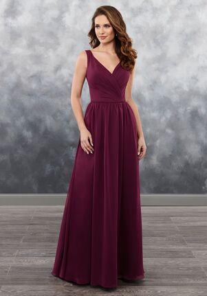 Amalia by Mary's Bridal MB7027 V-Neck Bridesmaid Dress