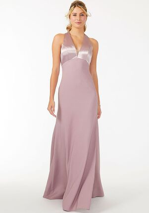 Morilee by Madeline Gardner Bridesmaids 21710 - Morilee by Madeline Gardner Bridesmaids Halter Bridesmaid Dress