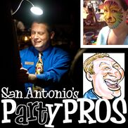 San Antonio, TX Caricaturist | Caricatures & Face Paint by Party Pros