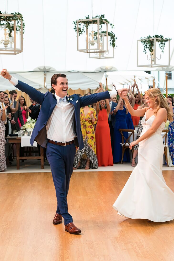 First Dance at Tented Wedding