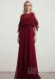 CocoMelody Bridesmaid Dresses RB0329 Bateau Bridesmaid Dress