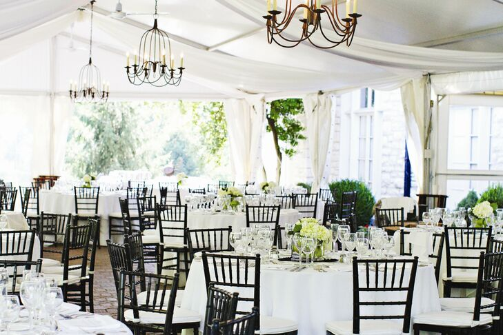 Charming Reception Decor