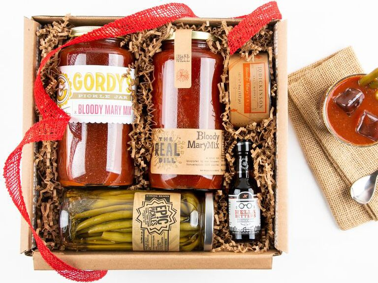 Bloody Mary groomsmen gift box