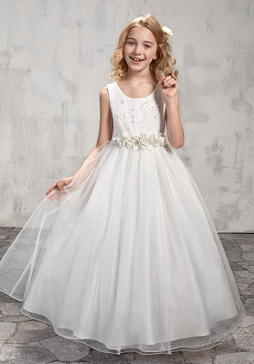 Mary's Angel by Mary's Bridal MB9008 Ivory Flower Girl Dress