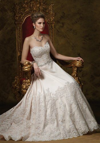 James Clifford Collection J21464 Wedding Dress - The Knot