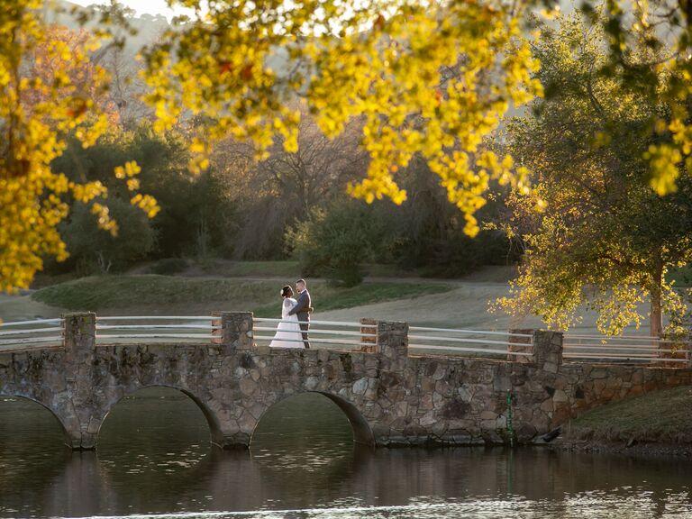 Wedding venue in Pleasanton, California.